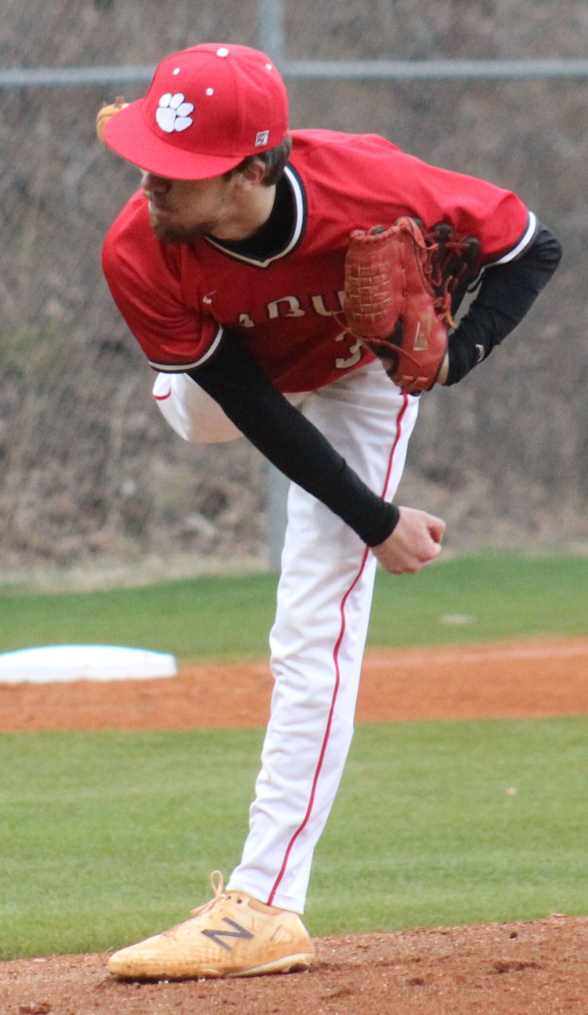 Andy Diffenderfer/Clayton Tribune Clint Green struck out six over five innings Monday in the Wildcats' win over Johnson of Gainesville.