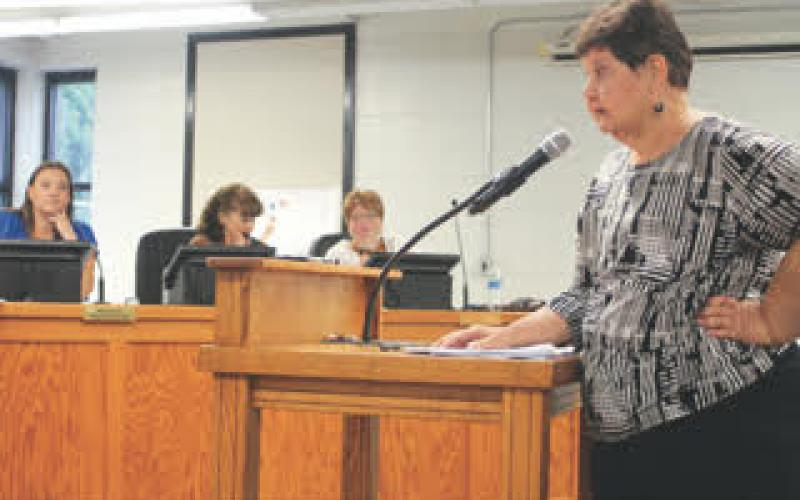 An alcohol ordinance at the Clayton City Council meeting on Tuesday resulted in lively debate and a tabling of the first reading until June 28.