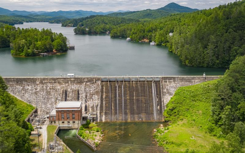 Photo Courtesy John Heinen/Project 360 Media. Lake Burton and Rabun County play key roles in a new documentary film on Georgia's hydroelectric revolution that airs Sept. 24 on Georgia Public Broadcasting stations.