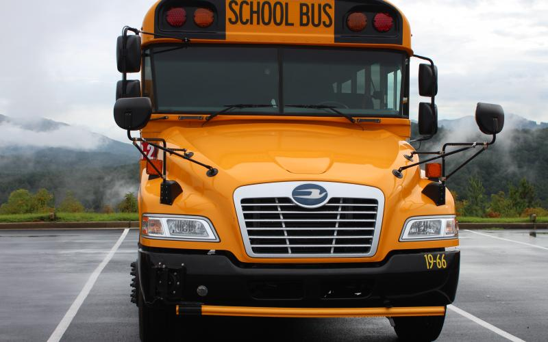 Megan Broome/The Clayton Tribune. Drivers should be aware of school buses on the roadway and drivers should use caution when traveling. Violators of Georgia code 40-6-163 Unlawful passing of school bus are issued a fine between $250-$500 and have six points added to their license.