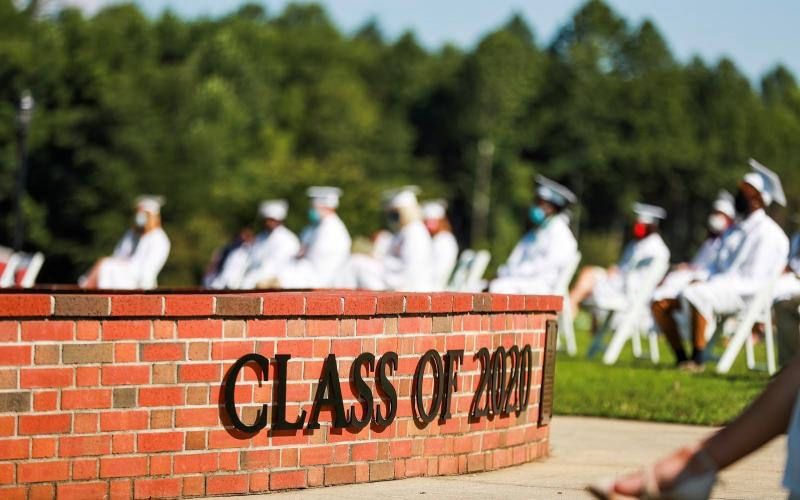 Rabun Gap-Nacoochee School unveiled The Class of 2020 Tribute Wall during graduation on August 9 in honor of the Class of 2020's resilience during the COVID-19 pandemic.