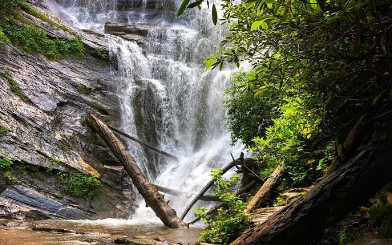 Wayne Knuckles/The Clayton Tribune. Area waterfalls draw a large number of visitors each year, but officials urge safety first when it comes to viewing.