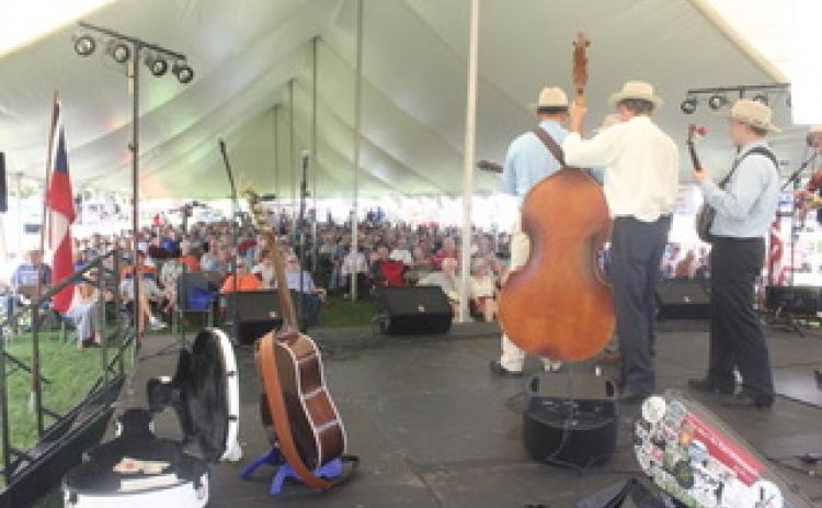 Bluegrass bands will be playing nearly non-stop this weekend at the 23rd annual Dillard Bluegrass and Barbecue Festival.
