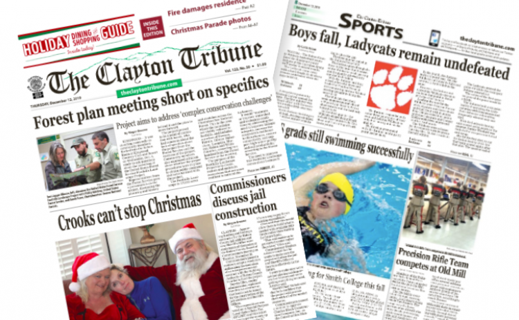 New edition of The Clayton Tribune is out