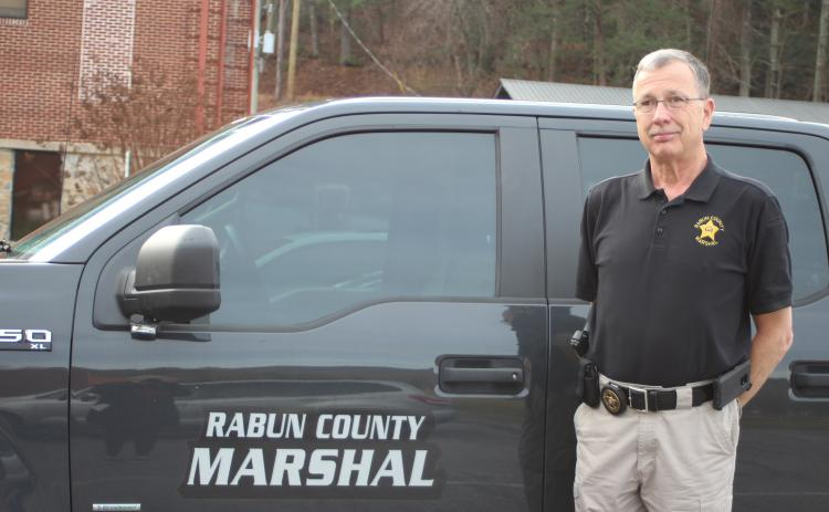 Roy Lovell's last day as County Marshal was December 31. He had served in the position since 1991.