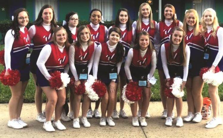 Submitted photo. On the front row, from left, are Brianna Henslee, Ayla Jarrard, Miya Stewart, Rainny Patterson, Jaycee Weber; back, Savanna Sullivan, Willow Fisher, Elizabeth Scruggs, Keianna Owens, Josie Darnell, Carley Smith, Faith Cofield, Cassidy Richardson and Haley Hunt.