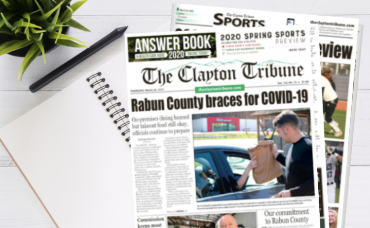 New edition of The Clayton Tribune is out.