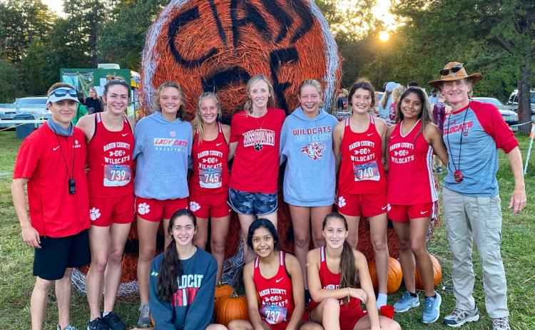 Submitted photo.The Rabun County High girls team placed second Oct. 13 at the Harrier Harvest meet hosted by Tallulah Falls School.