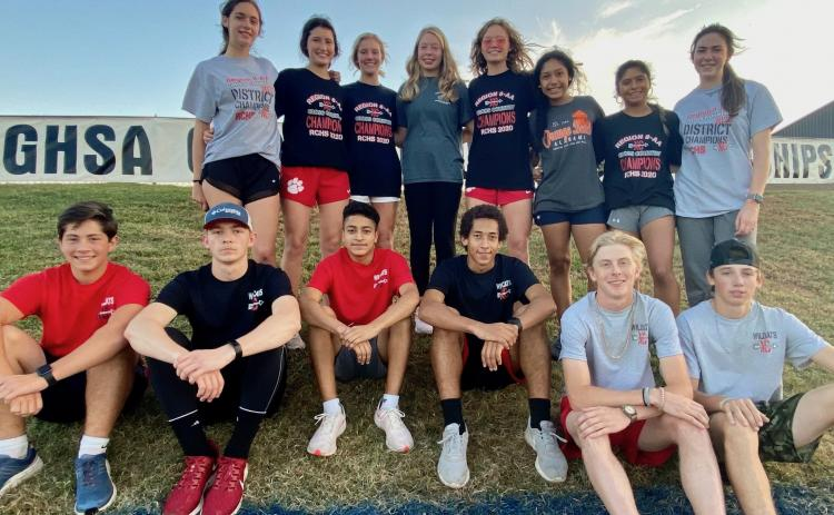 Photo courtesy of Rabun County High School The Rabun County High cross-country Wildcats closed the season last Saturday at the Class AA competition in Carrollton.